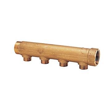 Collecteur MF 1'' portée plate entraxe 50 mm Riquier