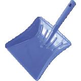 Pelle à poussière métallique