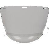 Ecran acétate pour casques de chantier