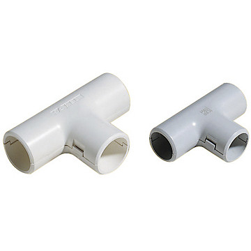 Té pour tube IRL gris Schneider Electric