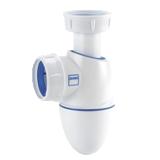 Siphon lavabo bi-matière Easyphon à joints intégrés BM211