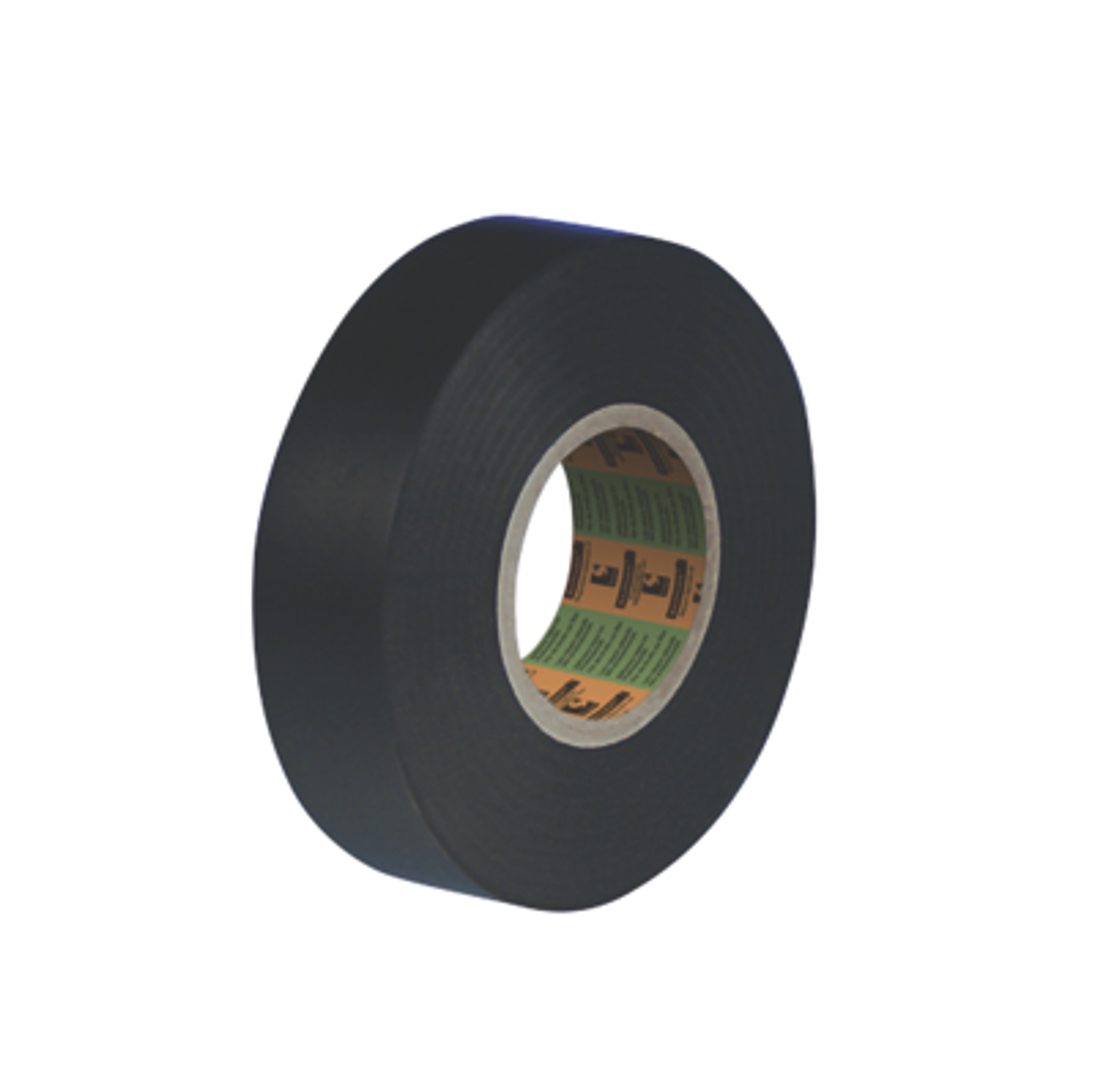 Adhésif vinyle plastifié 2705 largeur 19mm Noir Scapa