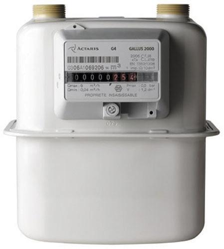 Compteur gaz G4 Itron