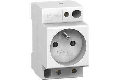 Prise modulaire 2P+T PC'clic 16 A 250 V