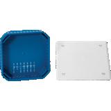 Boîte de dérivation maçonnerie Modulo à sceller avec couvercle