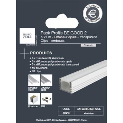 Packs profils aluminium Be Good 2 Europole