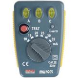 Testeur de disjoncteurs différentiels 30mA et de câblage des prises secteur