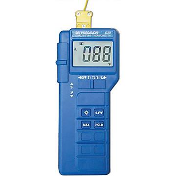 Thermomètre numérique à 2 entrées Sefram