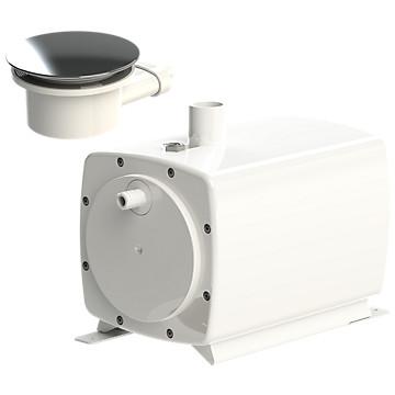 Pompe de relevage SaniFloor avec siphon pour receveur extra-plat Sfa