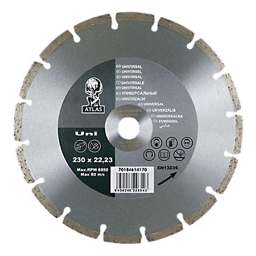 Disque diamant Atlas Flexovit