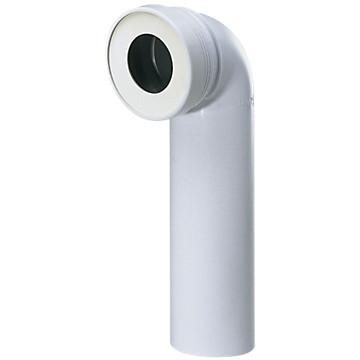 Pipe WC longue - Mâle coudée à 90° Siamp