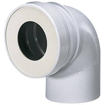Pipe WC courte mâle Siamp
