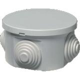 Boîte de dérivation Sibox ronde embouts à gradin