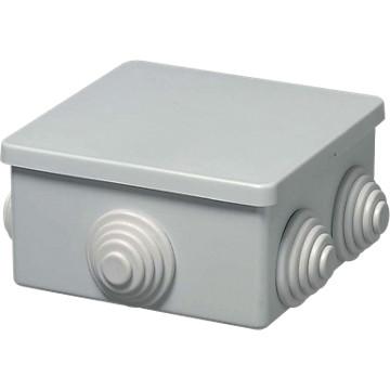 Boîte de dérivation Sibox carrée embouts à gradin Sib Adr