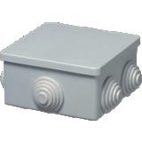 Boîte de dérivation Sibox carrée embouts à gradin