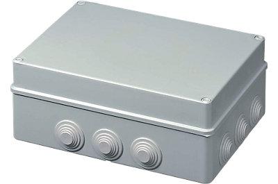 Boîte de dérivation Sibox rectangulaire embouts à gradin
