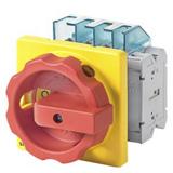 Interrupteurs sectionneurs SENTRON 3LD encastrés