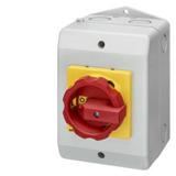Interrupteurs sectionneurs 3 pôles, enveloppes isolantes