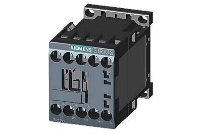 Contacteur S00 3RT20 - 3P + 1 auxiliaire - commande 24 DC - Bornes à vis