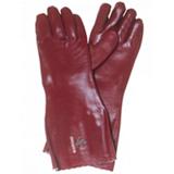 Gant chimique PVC740 rouge