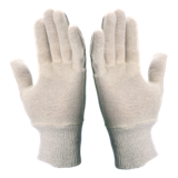 Gants de travail coton interlock JE300