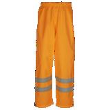 Pantalon de pluie haute visibilité orange Bitoray