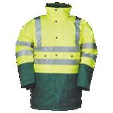 Parka haute visibilité jaune fluo/vert alpin Stormflash