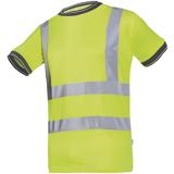 Tee-shirt jaune fluo Longa
