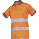 Polo Siofit Naro haute visibilité orange fluo
