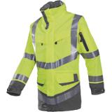 Parka haute visibilité jaune fluo/gris Windsor