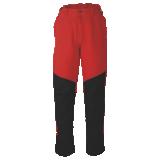 Pantalon forestier 1XSP rouge fluo/ jaune