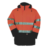 Parka de travail multirisques Sio-Start Reaven orange fluo/marine