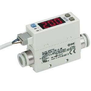 PFMB7201, Débitmètre numérique à écran bicolore, Écran intégré SMC