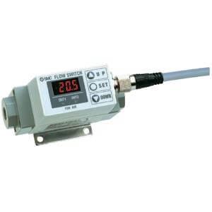 PF2A7**, Débitmètre numérique pour l'air, affichage intégré SMC