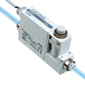 PFM5, Débitmètre numérique, à écran bicolore, Capteur déportée SMC