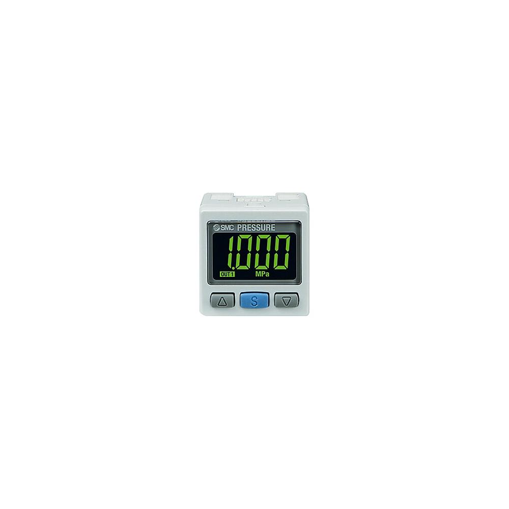 Pressostat numérique de haute précision à écran bicolore pour les pressions positives SMC