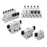 Distributeur ISO 2 série EVS7 5/2 monostable