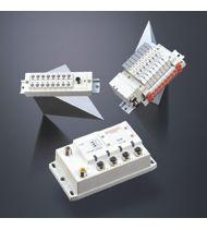 Interface multipoles/bus de terrain série EX500