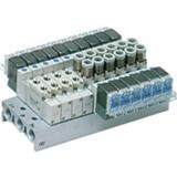 Distributeur montage sur embase série SY7140 5/2 monostable
