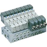 Distributeur montage en ligne série SY9120 5/2 monostable