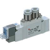 Distributeur montage en ligne série SY5120 5/2 monostable