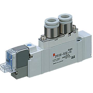 Distributeurs 5/3 centre pression montage en ligne SMC