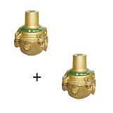 Lot de 2 réducteurs de pression N11BIS