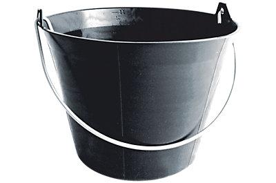 Seau plastique noir