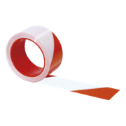 Ruban rouge/blanc Rubafort