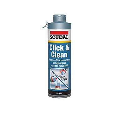 Nettoyant mousse polyuréthane Click & Fix Soudal