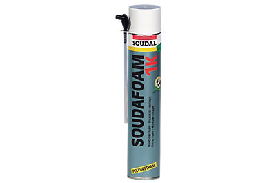 Mousse expansive polyuréthane SOUDAFOAM 1K