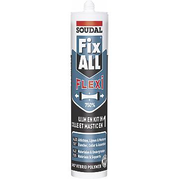 Mastic colle Fix ALL FLEXI Soudal