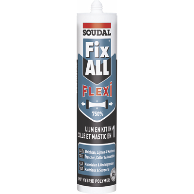 Mastic colle Fix ALL FLEXI Soudal