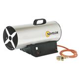 Chauffage air pulsé portable au gaz